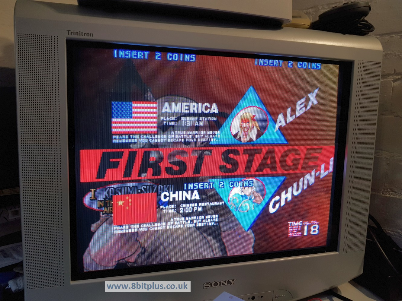 how to change language street fighter 3 3rd strike
