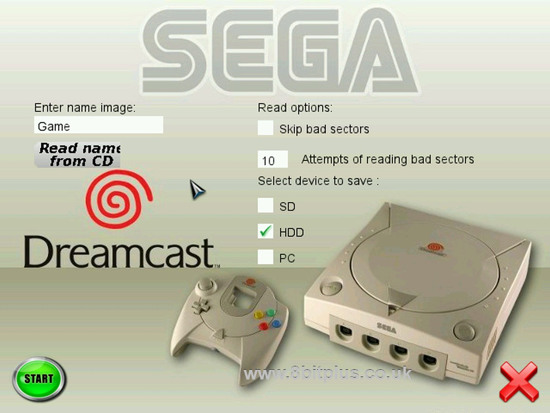 dreamcast sd isos
