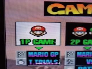 N64-RGB Mario Kart select COMP