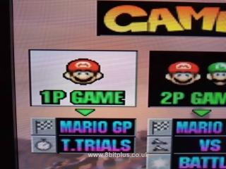 N64-RGB Mario Kart select RGB