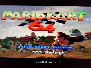 N64-RGB Mario Kart title RGB
