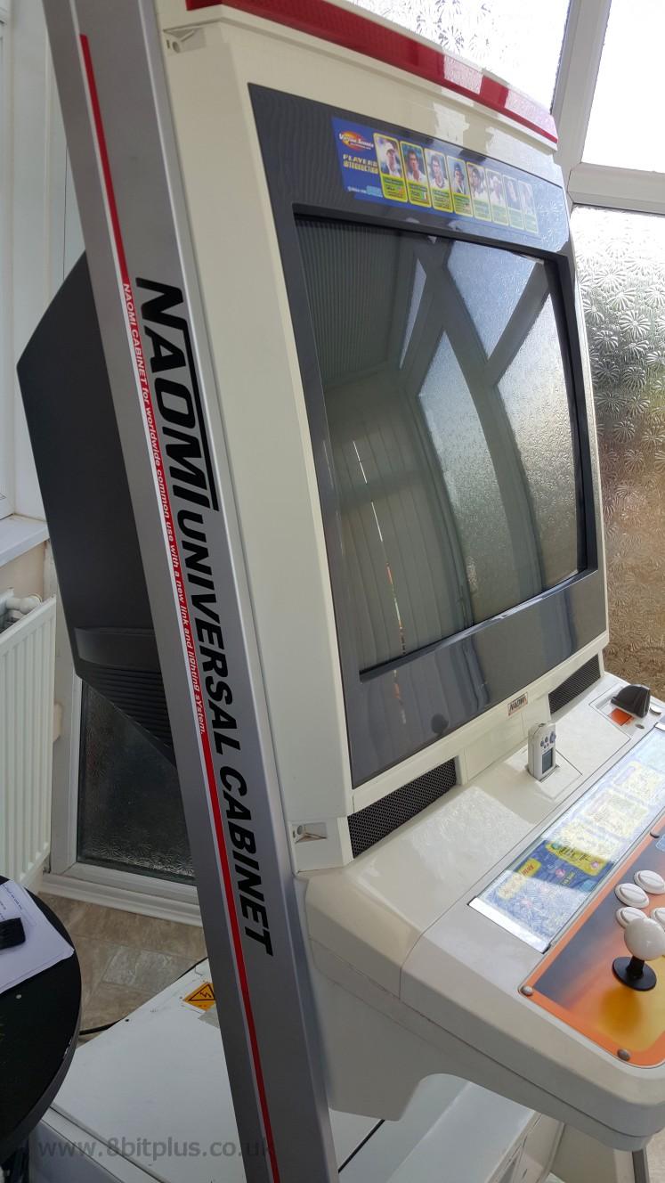 Naomi Universal Cabinet Arcade Restoration + modifications - 8Bitplus