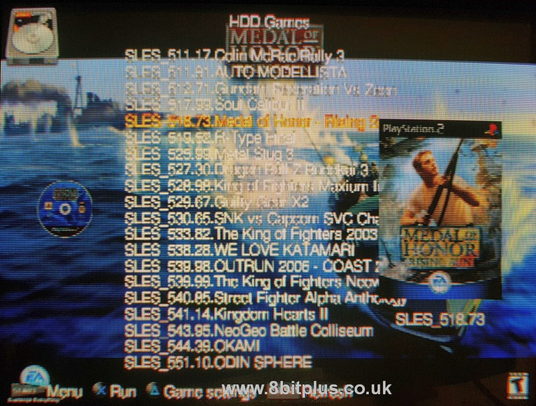 PlayStation 2 SATA Hard Drive upgrade - 8Bitplus