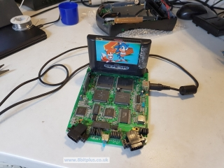Sega_CDX_motherboard_Test