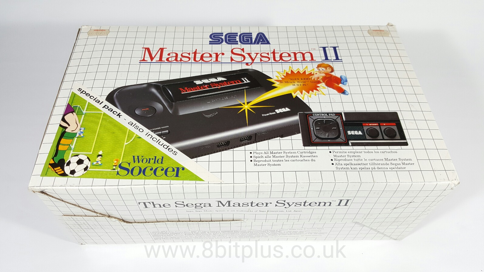 Master System II box front
