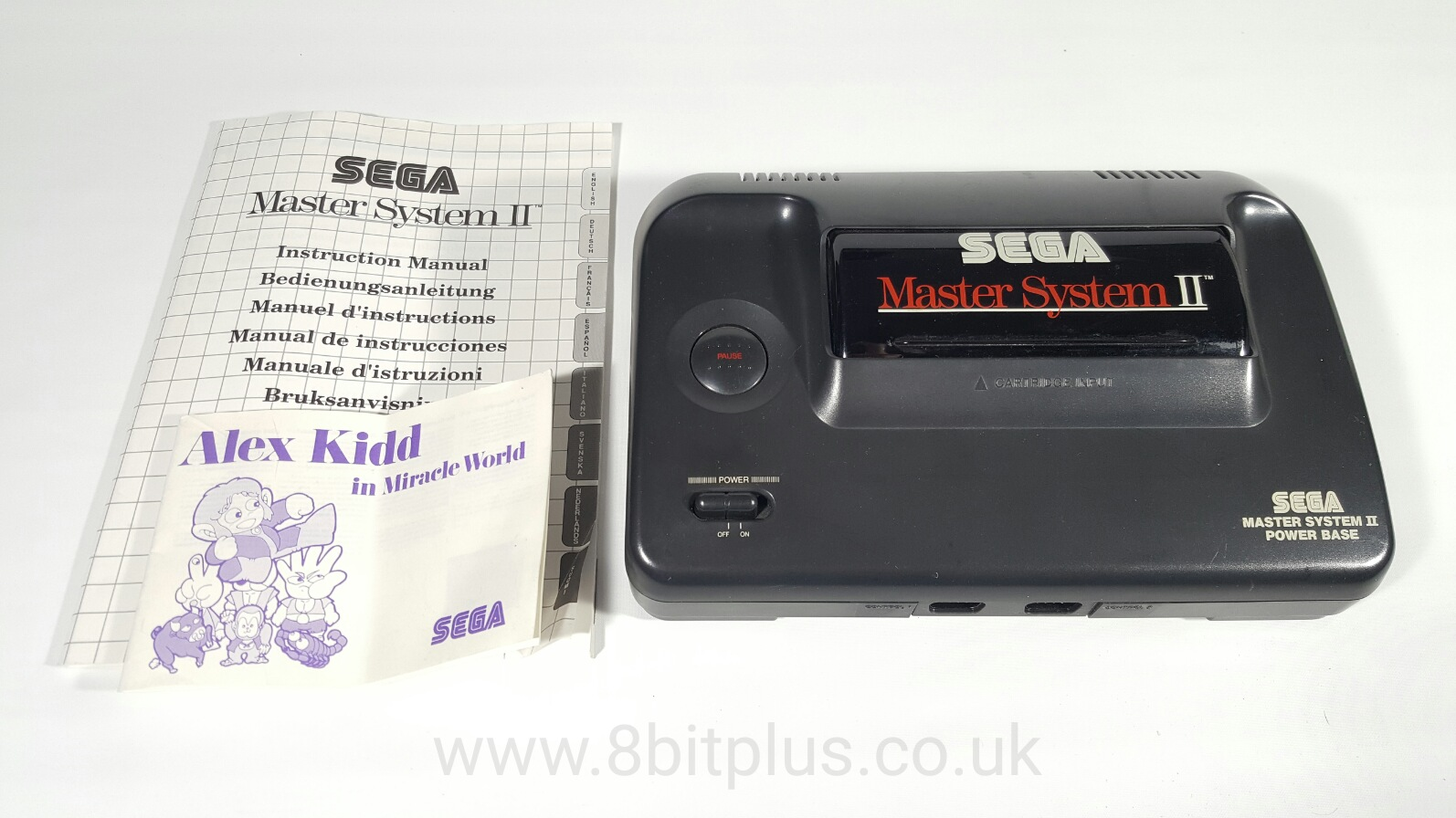 Master System II console