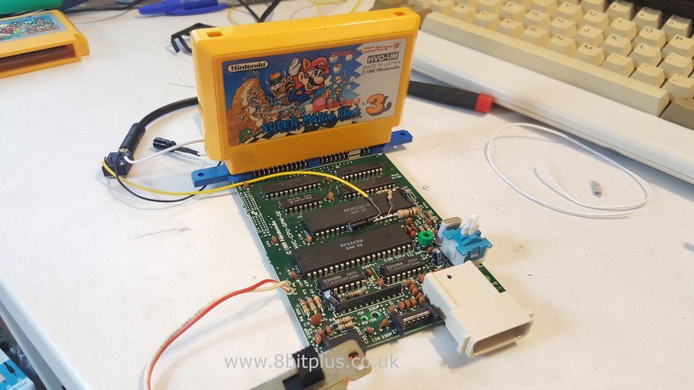 Famicom AV mod