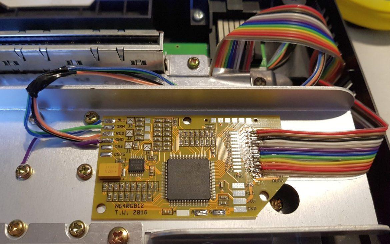 N64 RGB board