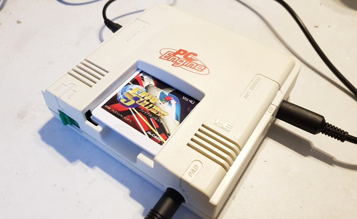 PC Engine (White) RGB amplifier modification upgrade - 8Bitplus
