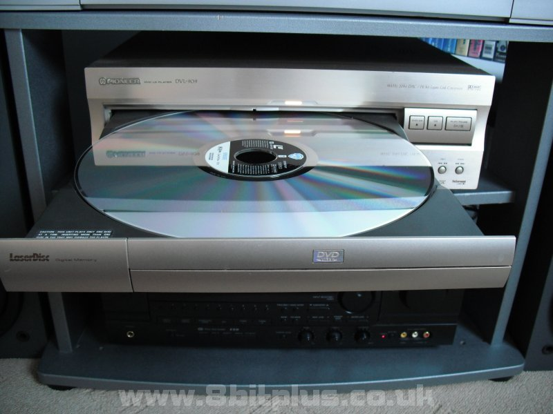 Laserdisc player