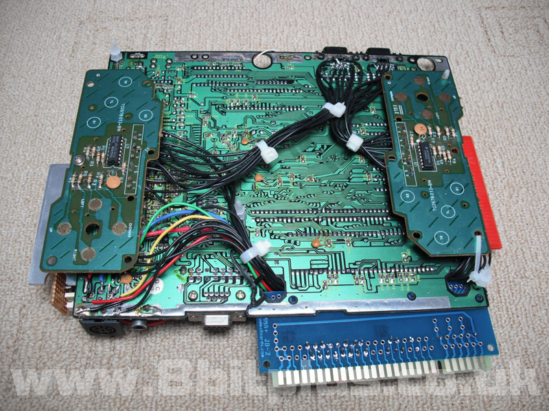 Sega Mega Drive to arcade Jamma Jammadrive