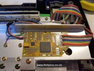 N64-RGB PCB mount