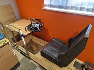 Sega-Rally-cabinet-control-base